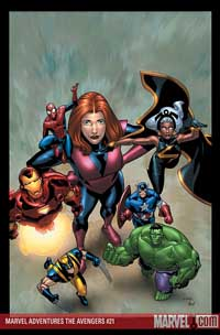 Marvel Adventures the Avengers #21 cover