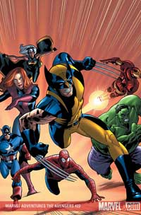 Marvel Adventures the Avengers #22 cover