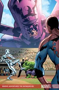 Marvel Adventures the Avengers #26 cover