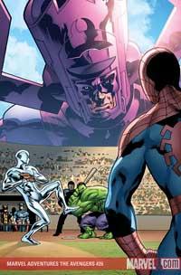 Marvel Adventures the Avengers #26 cover