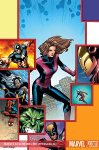 Marvel Adventures the Avengers #27 cover