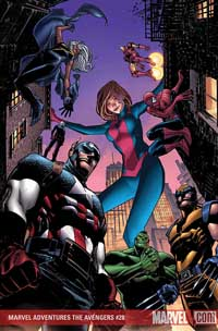 Marvel Adventures the Avengers #28 cover