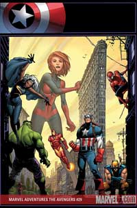 Marvel Adventures the Avengers #29 cover