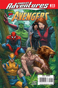 Marvel Adventures the Avengers #33 cover