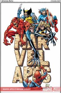 Marvel Apes #1 cover
