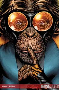 Marvel Apes #2 cover