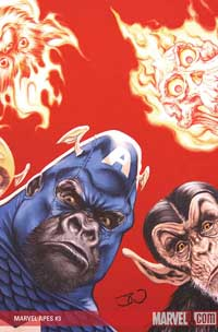 Marvel Apes #3 cover