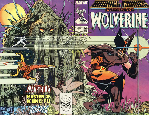 Wolverine Covers: Marvel Comics Presents #1
