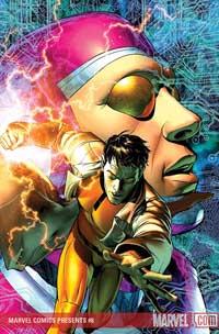 Marvel Comics Presents #8 cover