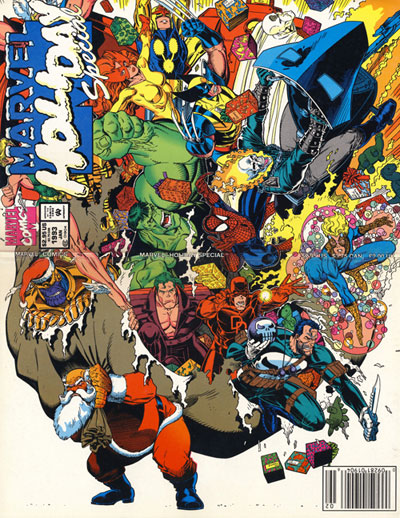 Marvel Holiday Special 1991 full cover