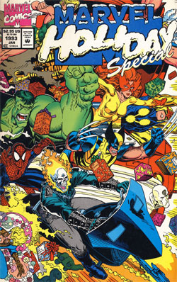 Marvel Holiday Special 1992 full cover