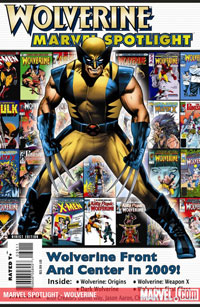 Marvel Spotlight: Wolverine cover