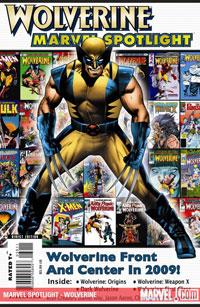 Marvel Spotlight: Wolverine cover