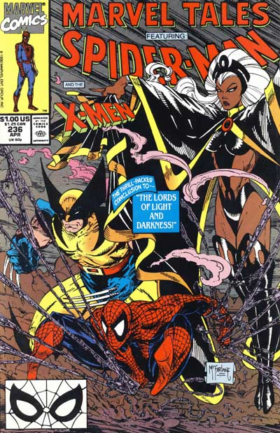 Wolverine Covers: Marvel Tales #236