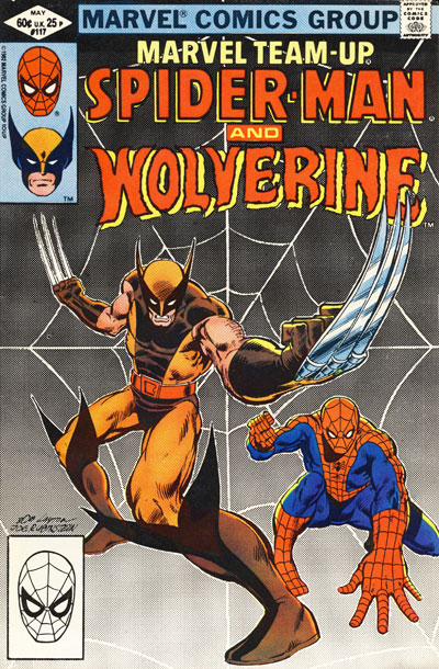 Wolverine Covers: Marvel Team-Up #117
