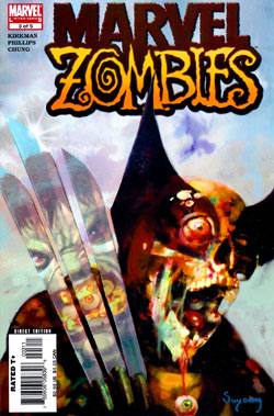 Wolverine Covers: Marvel Zombies #3