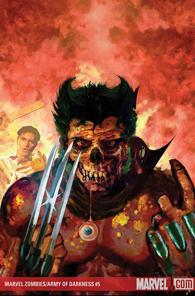 Marvel Zombies vs. Army of Darkness #5