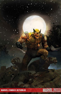 Marvel Zombies Return #3 cover
