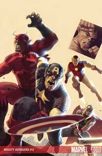 Mighty Avengers #12 cover