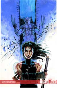 New Avengers #39 cover