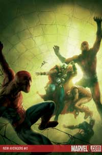 New Avengers #41 cover