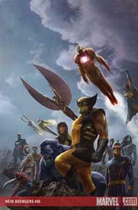 New Avengers #45 cover
