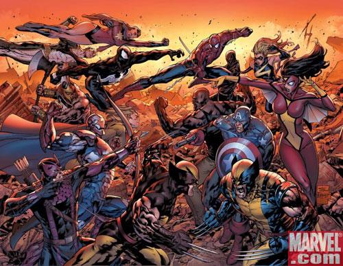 New Avengers #50 cover
