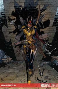 New Mutants #3 cover