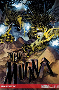 New Mutants #5 cover