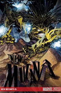 New Mutants #5 cover