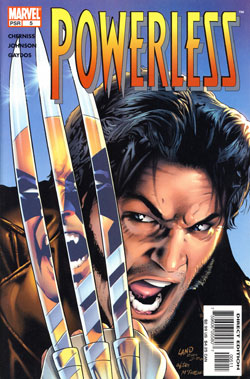 Wolverine Covers: Powerless #5