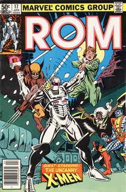 ROM #17 cover