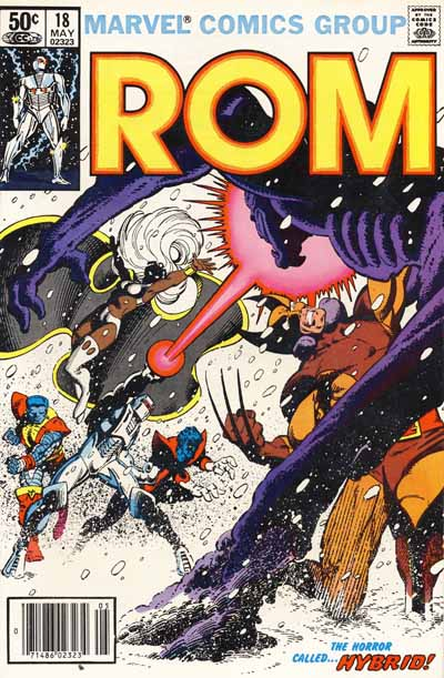 Wolverine Covers: ROM #18