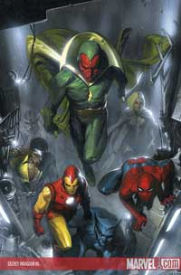 Secret Invasion #2 cover
