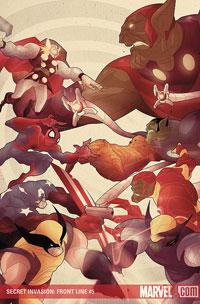 Secret Invasion #5 cover