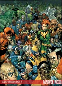 Secret Invasion Saga #1 cover