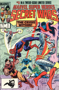 Secret Wars #3 cover