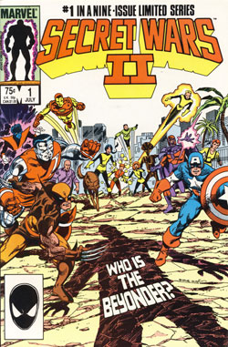 Secret Wars II #1 cover