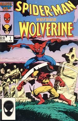 Wolverine Covers: Spider-Man Versus Wolverine #1