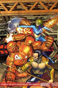 Ultimate Fantastic Four/Ultimate X-Men Annual #1 cover
