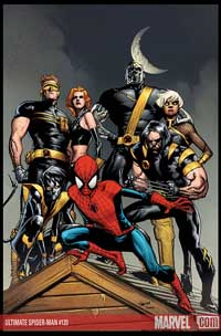 Ultimate Spider-Man #120 cover