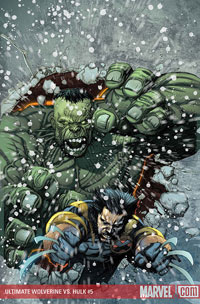 Ultimate Wolverine vs. Hulk #5 cover