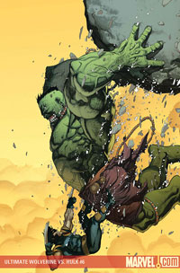 Ultimate Wolverine vs. Hulk #6 cover