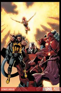 Ultimate X-Men #93 cover