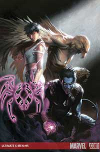 Ultimate X-Men #95 cover