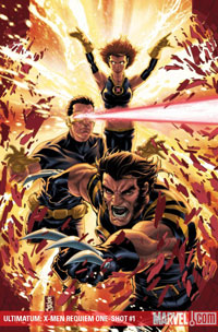 Ultimatum: X-Men Requiem #1 cover