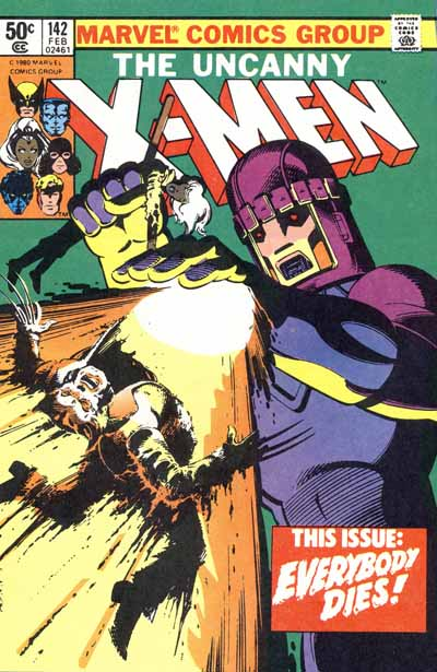 Wolverine Covers: X-Men #142