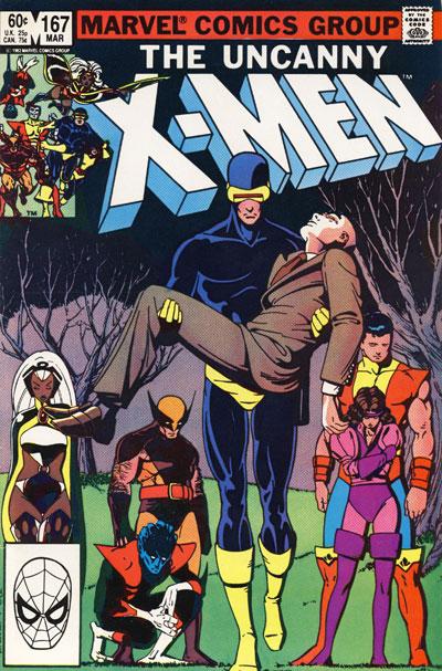 Wolverine Covers: Uncanny X-Men #167