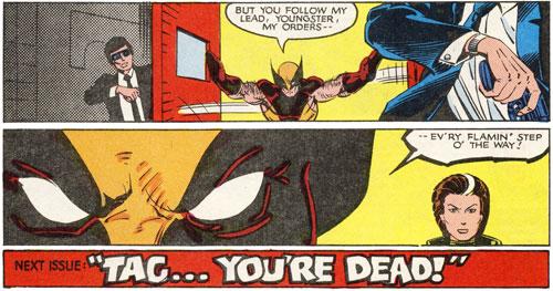 Uncanny X-Men #172 final panels