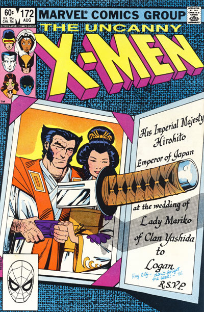 Wolverine Covers: Uncanny X-Men #172
